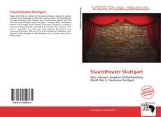 Bookcover of Staatstheater Stuttgart
