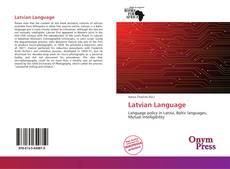 Borítókép a  Latvian Language - hoz