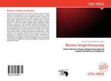 Bookcover of Rovira i Virgili University