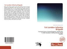 Capa do livro de 1st London Infantry Brigade
