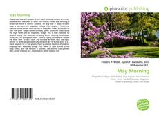 May Morning kitap kapağı