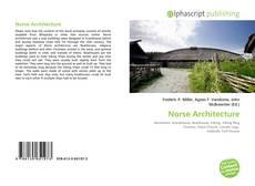 Couverture de Norse Architecture