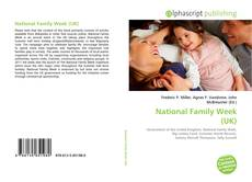 Bookcover of National Family Week (UK)