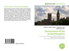 Buchcover von Government of the United Kingdom