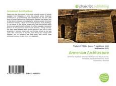 Couverture de Armenian Architecture
