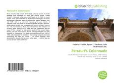 Bookcover of Perrault's Colonnade