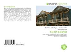 Bookcover of French Colonial
