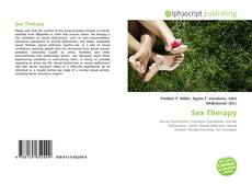 Bookcover of Sex Therapy