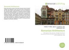 Couverture de Romanian Architecture