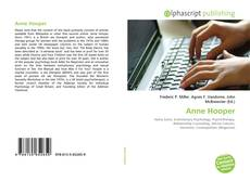 Bookcover of Anne Hooper