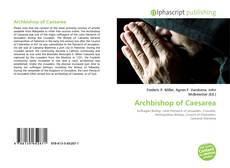 Copertina di Archbishop of Caesarea