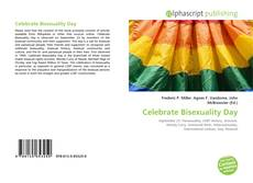 Capa do livro de Celebrate Bisexuality Day