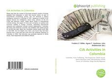 CIA Activities in Colombia kitap kapağı