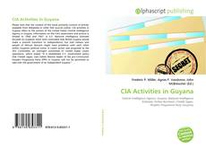 CIA Activities in Guyana kitap kapağı