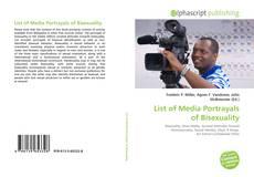 Capa do livro de List of Media Portrayals of Bisexuality