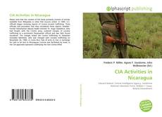 Bookcover of CIA Activities in Nicaragua