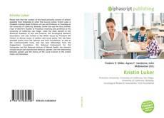 Bookcover of Kristin Luker