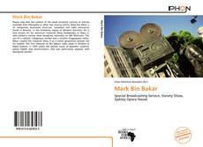 Bookcover of Mark Bin Bakar