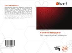 Bookcover of Very Low Frequency