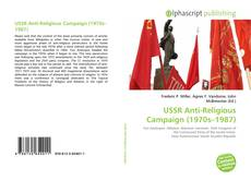 Capa do livro de USSR Anti-Religious Campaign (1970s–1987)