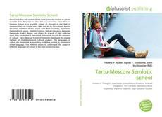Bookcover of Tartu-Moscow Semiotic School