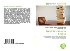 Bookcover of Welsh Literature in English