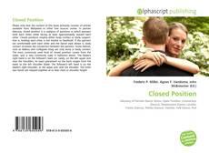 Portada del libro de Closed Position