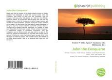 Couverture de John the Conqueror