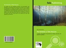 Buchcover von Pie-Grièche à Tête Rousse