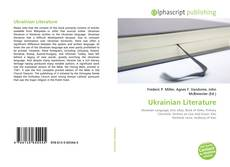 Copertina di Ukrainian Literature