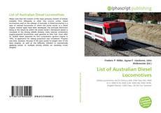 Borítókép a  List of Australian Diesel Locomotives - hoz