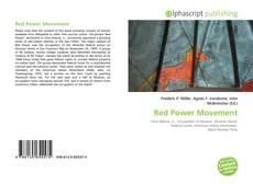 Portada del libro de Red Power Movement