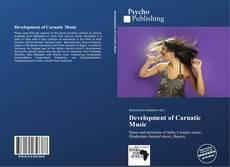 Обложка Development of Carnatic Music