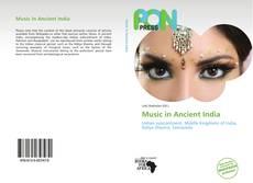 Capa do livro de Music in Ancient India