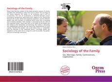 Обложка Sociology of the Family