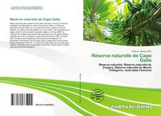 Capa do livro de Réserve naturelle de Capo Gallo