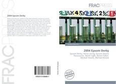 Capa do livro de 2004 Epsom Derby