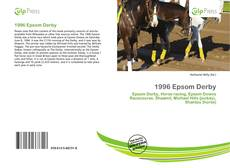 Capa do livro de 1996 Epsom Derby
