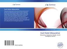 Buchcover von Cecil Hotel (Alexandria)