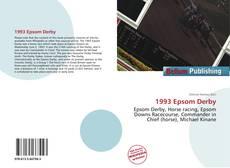 Capa do livro de 1993 Epsom Derby