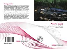 Capa do livro de Avery, Idaho