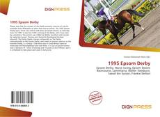 Bookcover of 1995 Epsom Derby