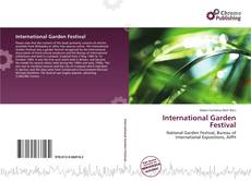 International Garden Festival kitap kapağı