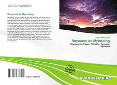 Bookcover of Royaume de Myinsaing