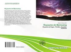 Buchcover von Royaume de Myinsaing