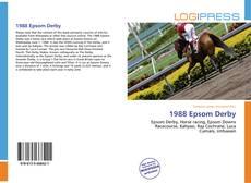 Capa do livro de 1988 Epsom Derby