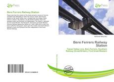Bookcover of Bere Ferrers Railway Station