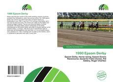 Capa do livro de 1990 Epsom Derby