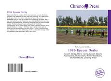 Bookcover of 1986 Epsom Derby