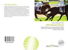 Capa do livro de 1987 Epsom Derby